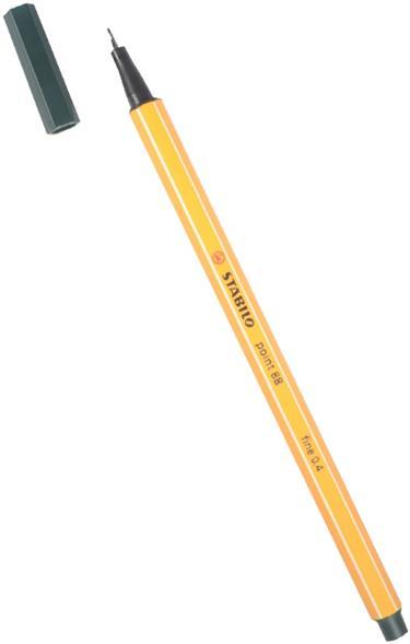 """Ручка капиллярная цвет травы """"Рoint"""" 0,4мм, STABILO"""