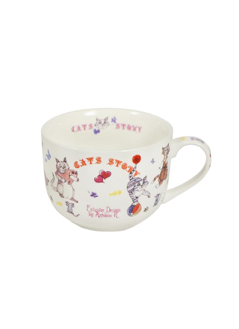 Кружка-гигант Веселые Котята (700 мл) (J013-Cats) Gift Land (Виктори)