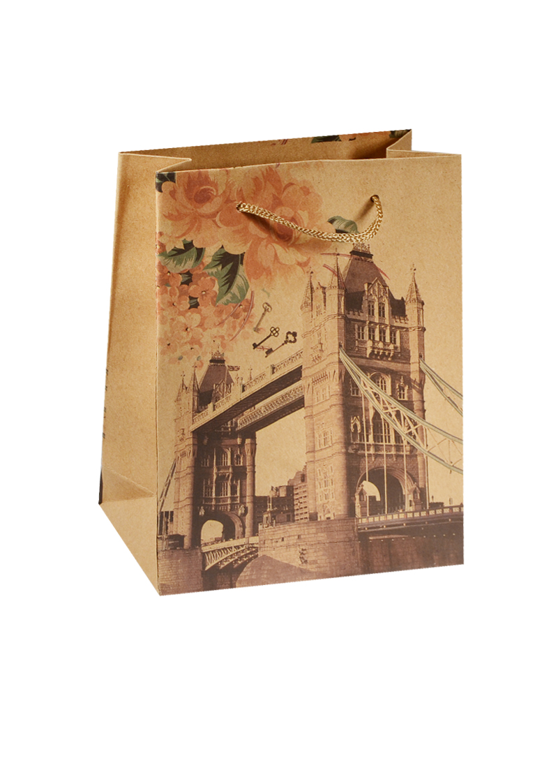 Пакет крафт Лондон 15*20*6 (XX-661М)