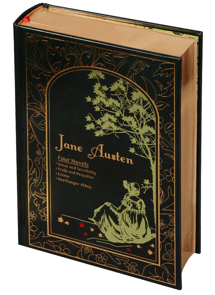 Austen J. Jane Austen. Four Novels jane austen persuasion stage 4