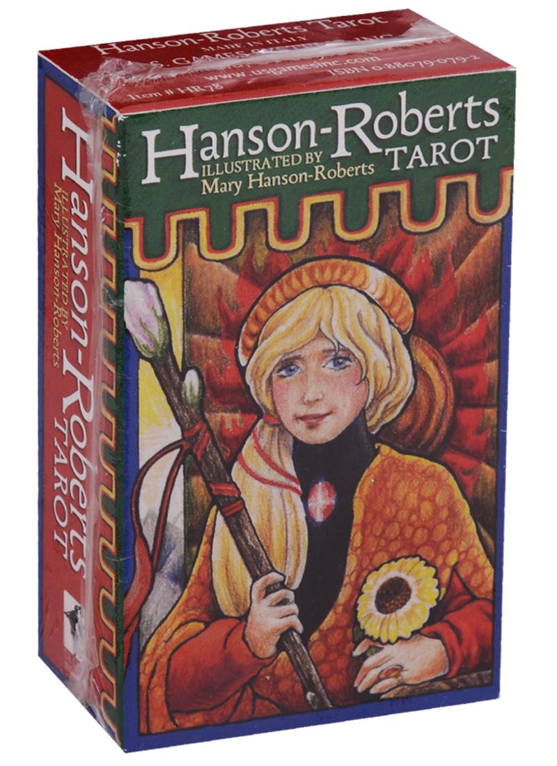 Hanson Roberts Tarot / Хансон Робертс Таро (карты + инструкция на английском языке) магические послания богинь 44 карты инструкция