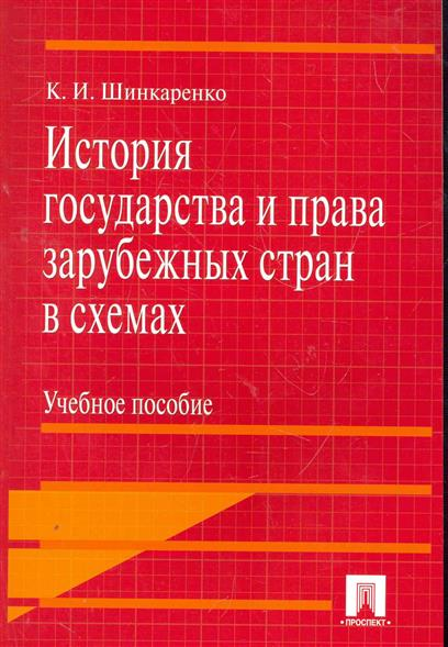 Шинкаренко К. История государства и права зарубежных стран в схемах