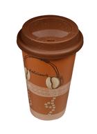 Стакан керамический Кофе и наушники