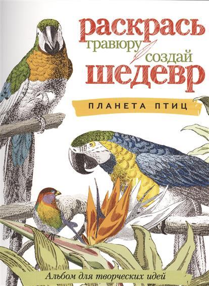 Планета птиц. Альбом для творческих идей
