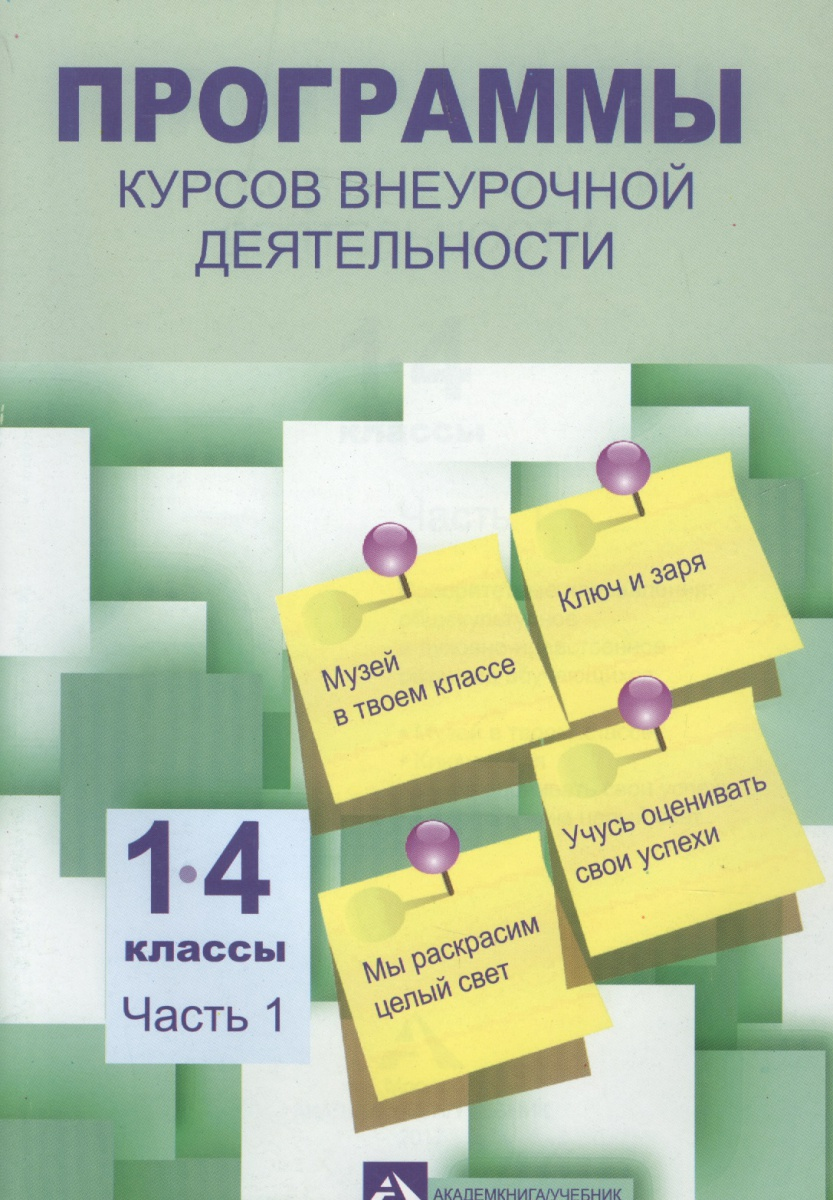 Программы по внеурочной деятельности. 1-4 классы. Часть 1