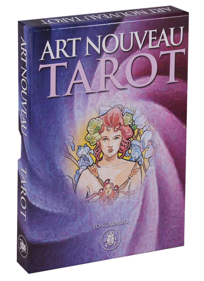 Castelli A. Art Nouveau Tarot. 22 катры + инструкция jean lahor art nouveau