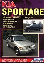Kia Sportage 1998-2005 багажник на крышу lux kia spectra 2005 2010 1 2м прямоугольные дуги 692995