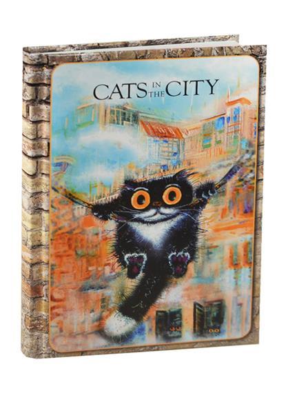 Блокнот Cats in the City (Качели)