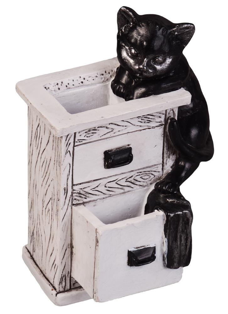 Подставка для канц. принадлежностей Кошка (7,5x10)