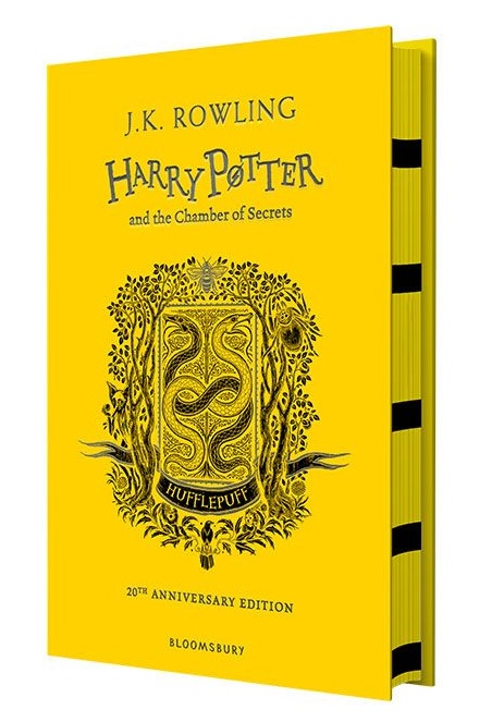 Rowling J. Harry Potter and the Chamber of Secrets. Hufflepuff календарь фоторамка на 2018г сгшарпей на диване 16 5 21см 1 блок на спирали