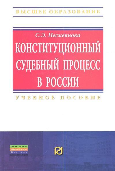 Конституционный судебный процесс в России. Учебное пособие