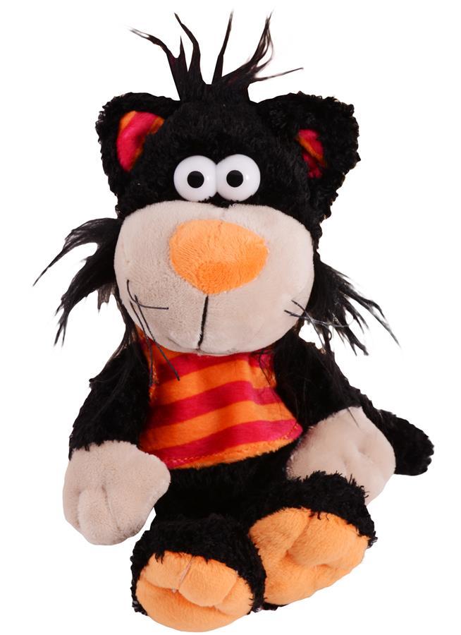 Мягкая игрушка Кот Черныш (15 см)