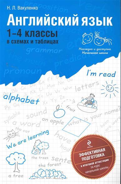 Английский язык 1-4 кл. В схемах и таблицах