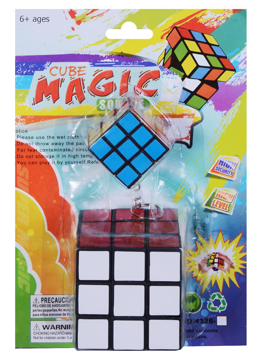 Головоломка Кубик + брелок (13х19) (блистер)