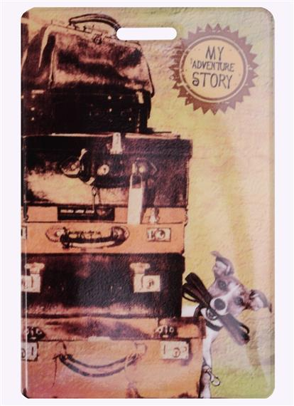 Чехол для карточек My Adventures (чемоданы)