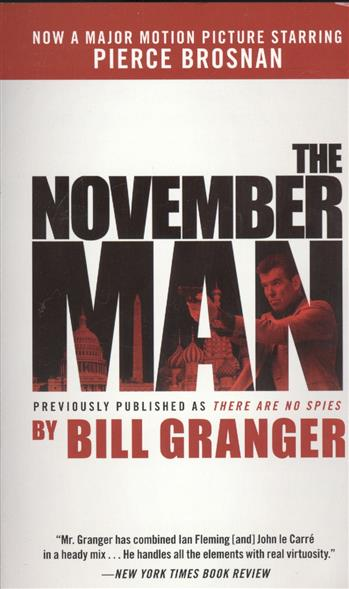 Granger B. The November Man calendar november 2015