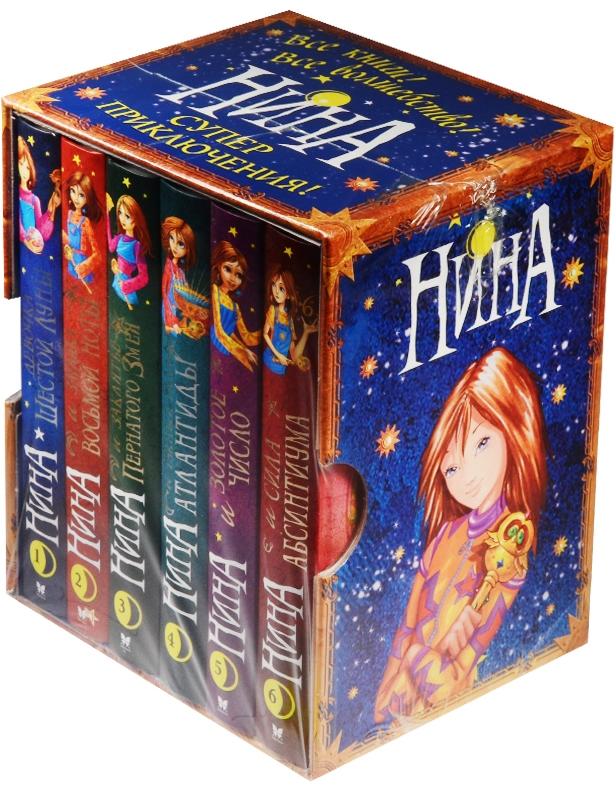 Витчер М. Нина (комплект из 6 книг) боевой флот комплект из 6 книг