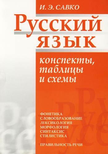 Русский язык Конспекты таблицы и схемы