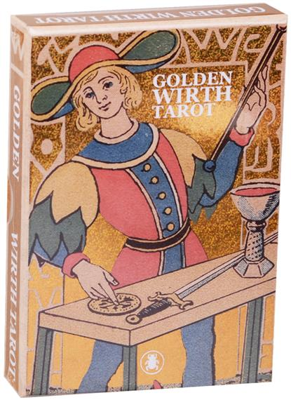 Oswald Wirth Таро Golden Wirth Tarot/ Золотое Таро Вирта