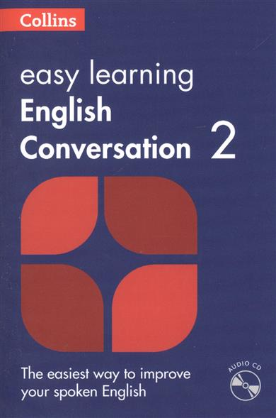 Easy Learning English Conversation: Book 2 (+CD) easy learning speak french with cdx2
