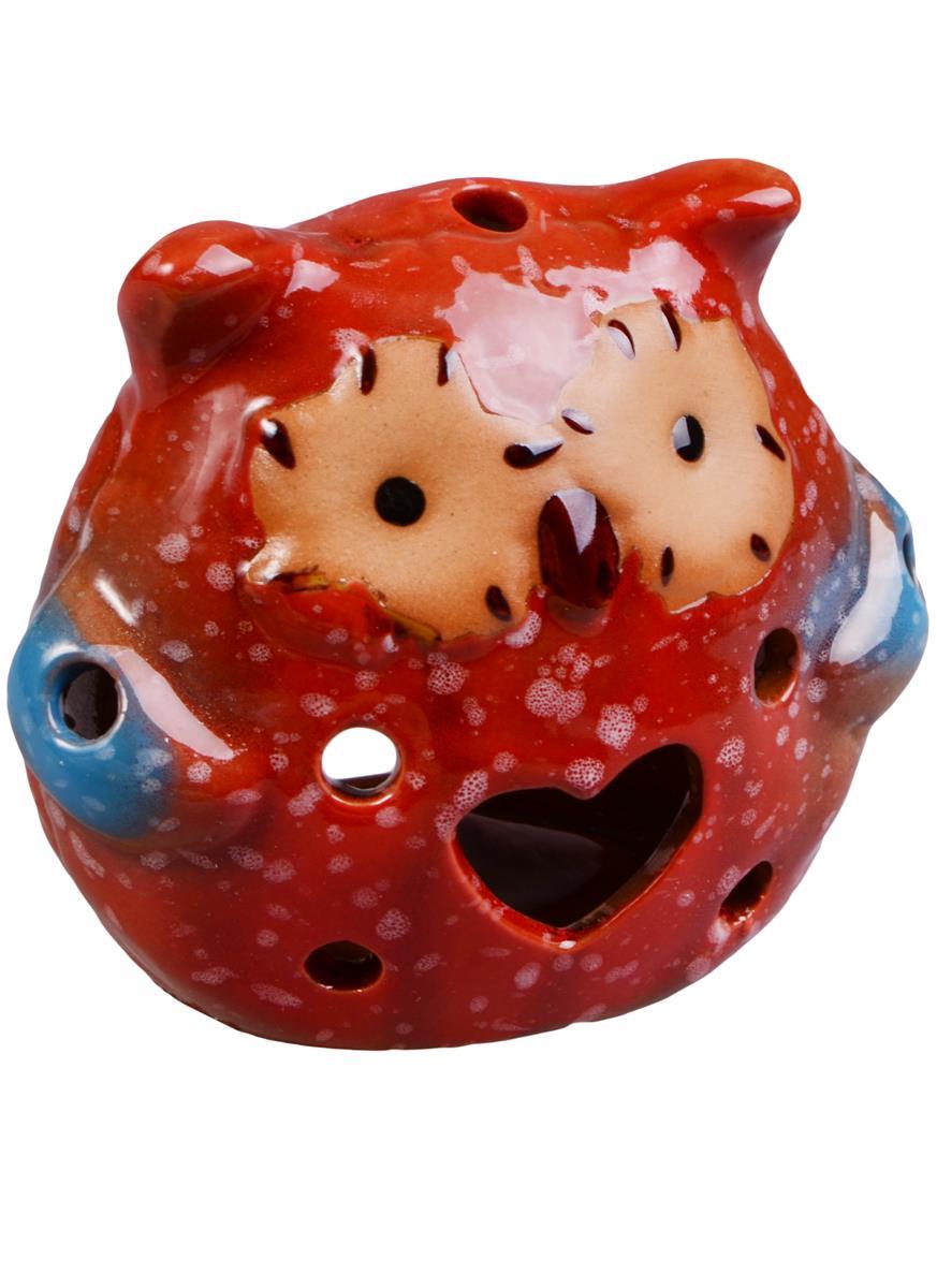 Аромалампа Сова со звездой и сердцами (7х8) (керамика)