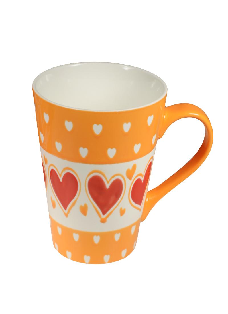 Кружка Любовь-морковь 450 мл в подарочной упаковке (356-171)