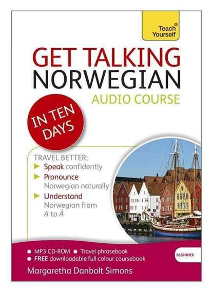 Simons M.D. Get Talking Norwegian in Ten Days. Audio course slovo g ten days