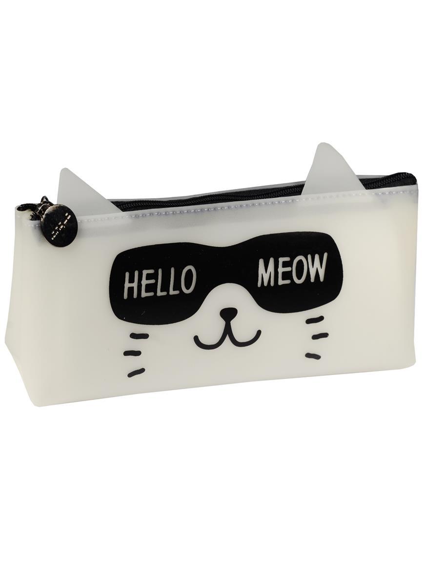 """Пенал на молнии """"Кошка: Hello Meow"""""""