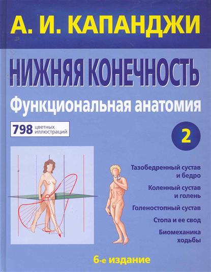 Капанджи А. Нижняя конечность Функциональная анатомия книги эксмо нижняя конечность функциональная анатомия
