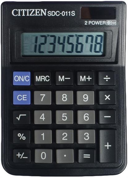 Калькулятор настольный CITIZEN SDC-011S