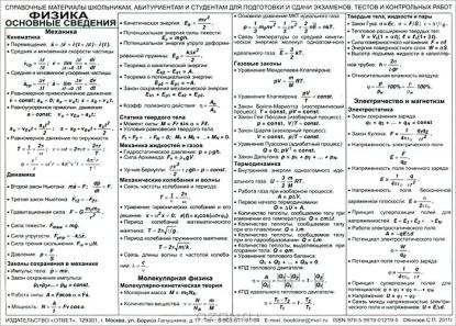 Физика Основные сведения