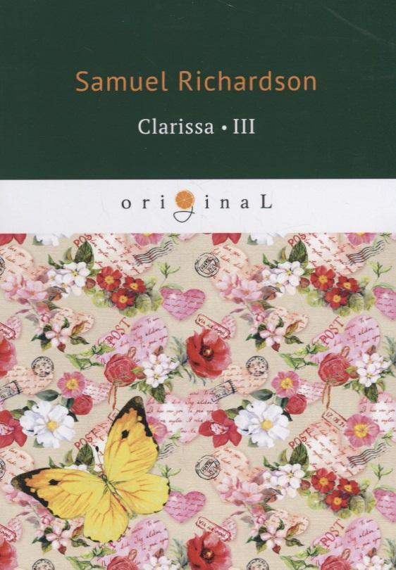 Richardson S. Clarissa 3 richardson s clarissa 5