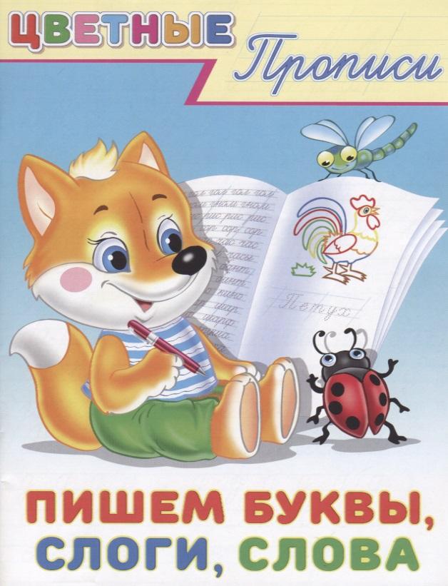 Цветные прописи. Пишем буквы, слоги, слова отсутствует русский язык пишем буквы и слова