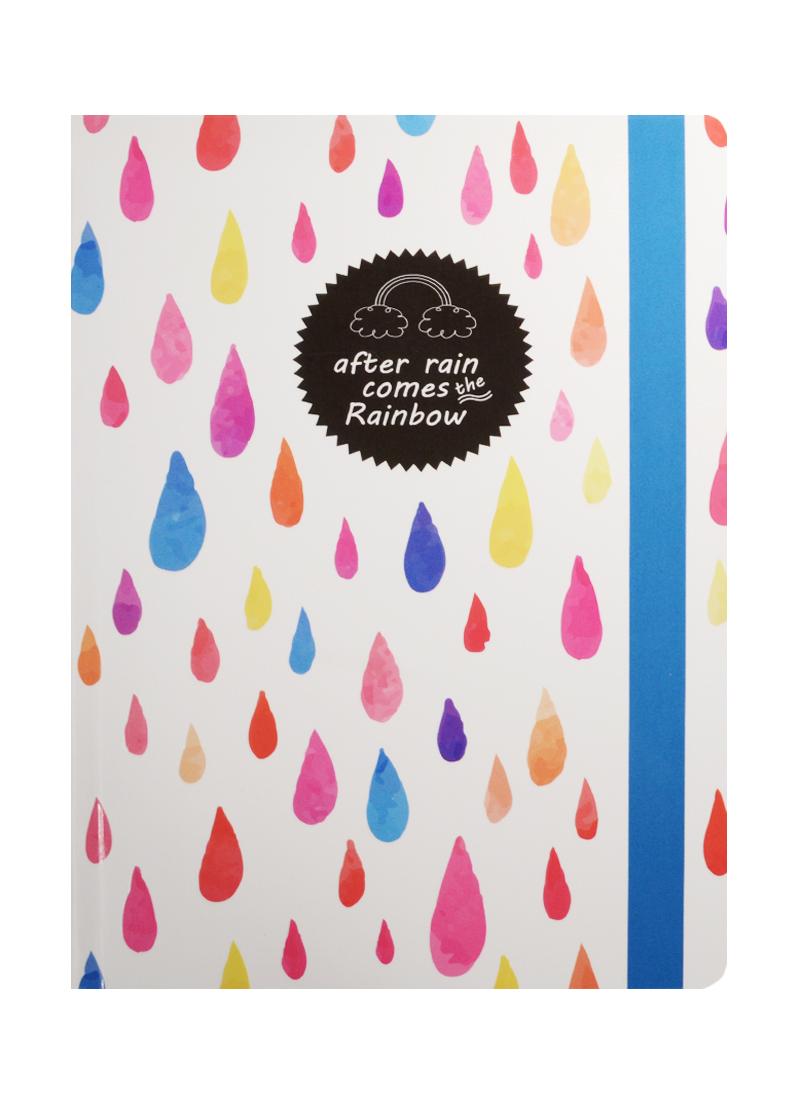 Блокнот After rain comes the Rainbow