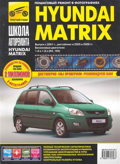 Погребной С., Владимиров А. Hyundai Matrix в фото автомобильный коврик seintex 86884 для hyundai matrix