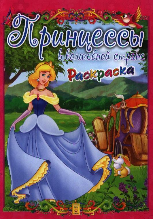 Принцессы в волшебной стране. Раскраска ахмед сухель принцессы книжка с волшебной страничкой