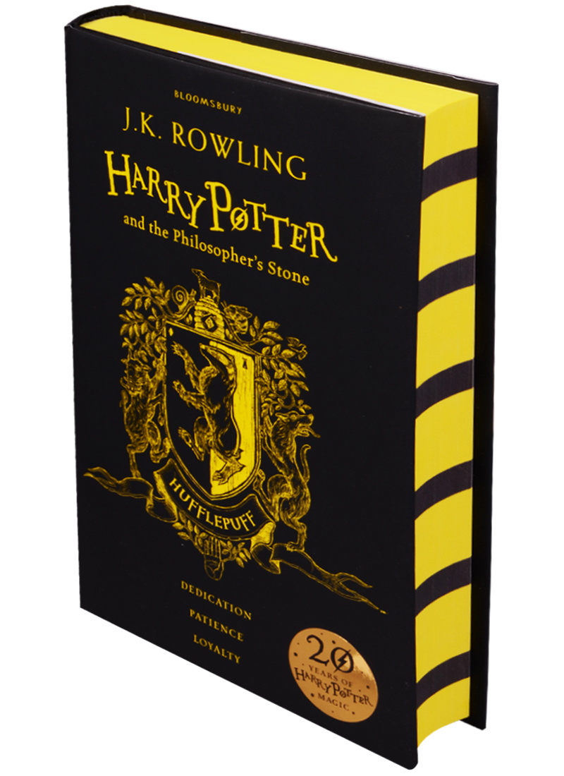 Rowling J. Harry Potter and the Philosopher's Stone - Hufflepuff Edition Hardcover harry potter and the chamber of secrets