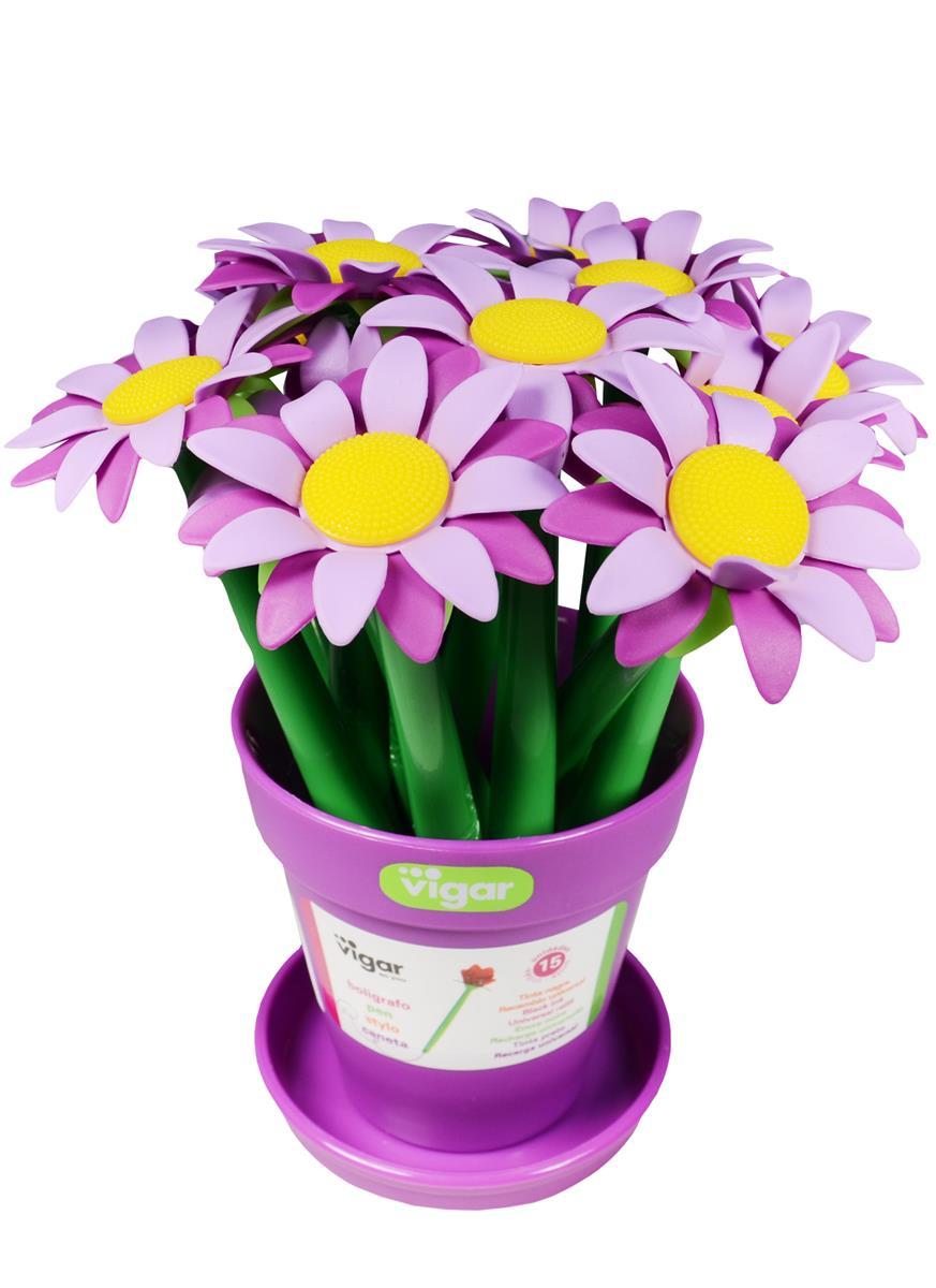 VIGAR шариковая ручка Flower power (8049)