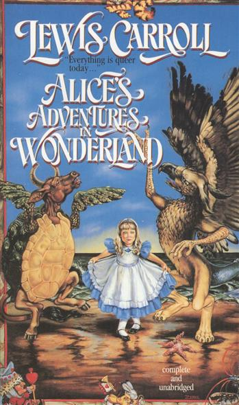 Carrol L. Alice's Adventures in Wonderland lakai lakai carrol white