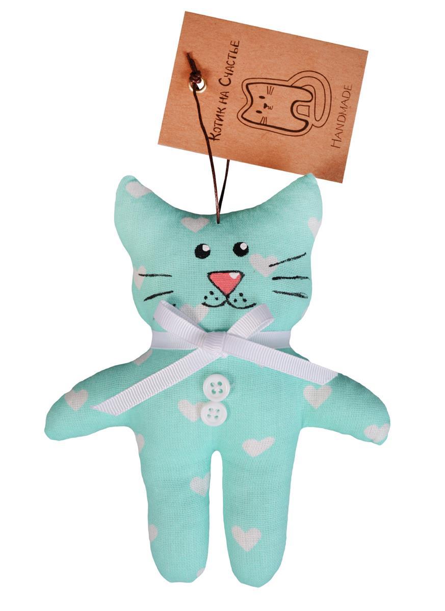 Котик на счастье (14 см) (текстиль)