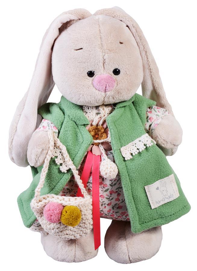 Мягкая игрушка Зайка Ми Зеленая полынь (25 см)
