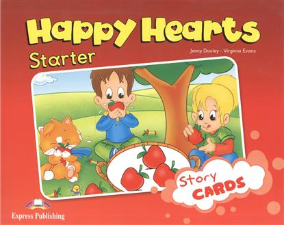 Dooley J., Evans V. Happy Hearts Starter. Story Cards. Сюжетные картинки к учебнику evans v dooley j happy hearts 1 picture flashcards
