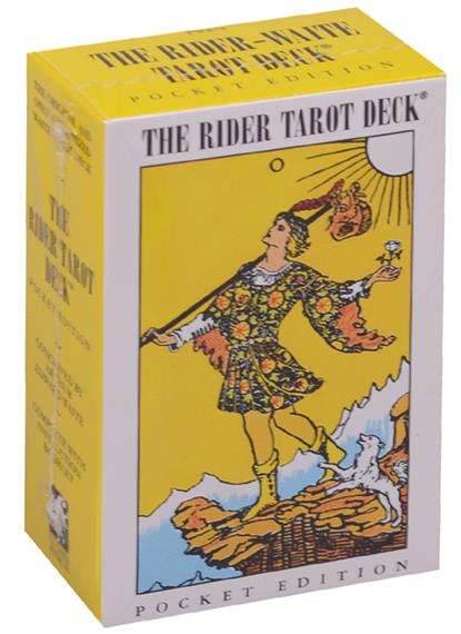 The Rider tarot deck. Pocket edition