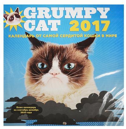 Grumpy Cat. Календарь от самой сердитой кошки в мире. Календарь настенный на 2017 год