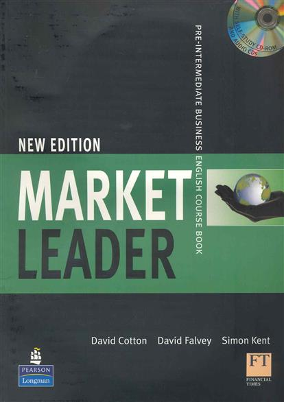 Cotton D., Falvey D., Kent S. Market Leader New Edition Pre-Intermediate Course Book market leader extra elementary coursebook dvd rom