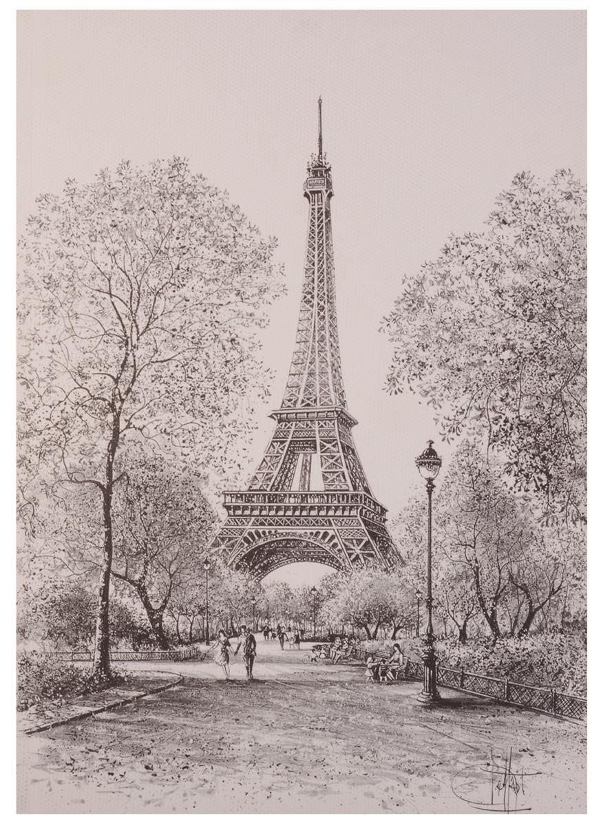 """Скетчбук """"Париж"""", 72 л"""