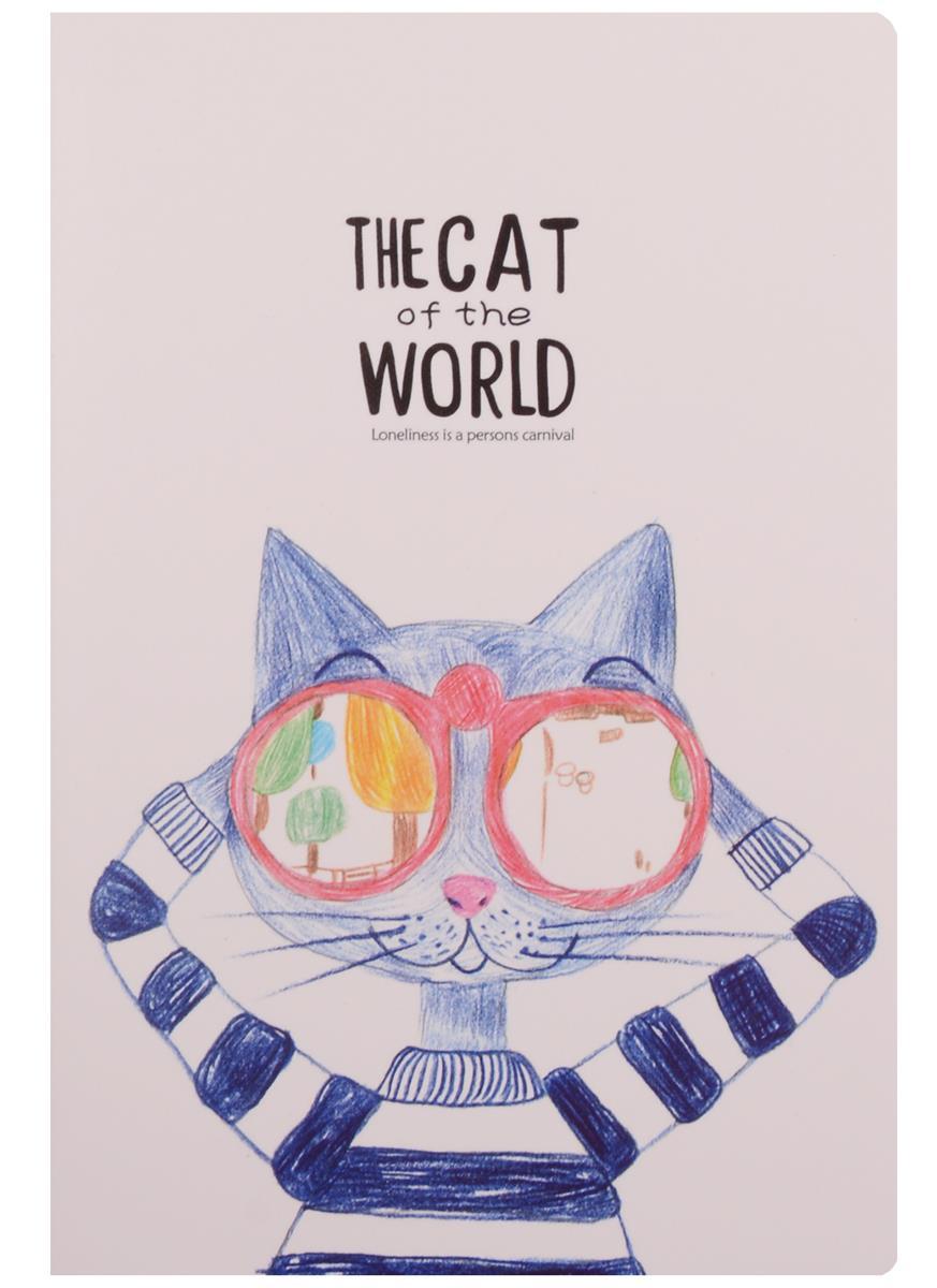 "Тетрадь ""The cat of the world"""
