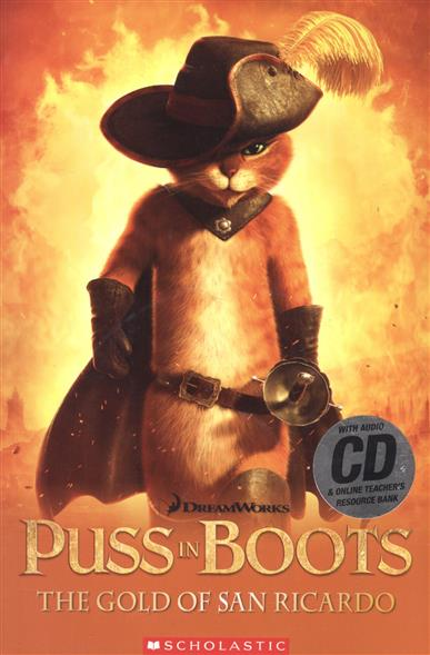 Davis F. Puss in Boots: the God of San Ricardo. Level 3 (+CD) проводные наушники gembird mp3 ep13 black