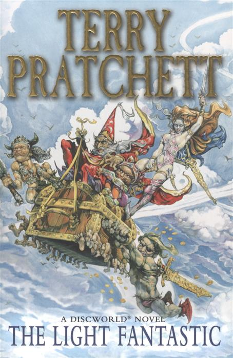 Pratchett T. The Light Fantastic ISBN: 9780552166607 french manners