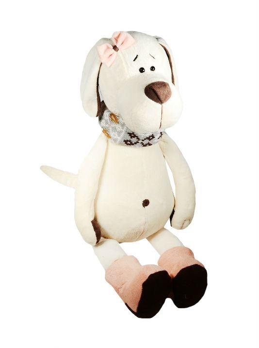 Мягкая игрушка Собачка Лапуська в уггах (30 см) (OS074/30В)